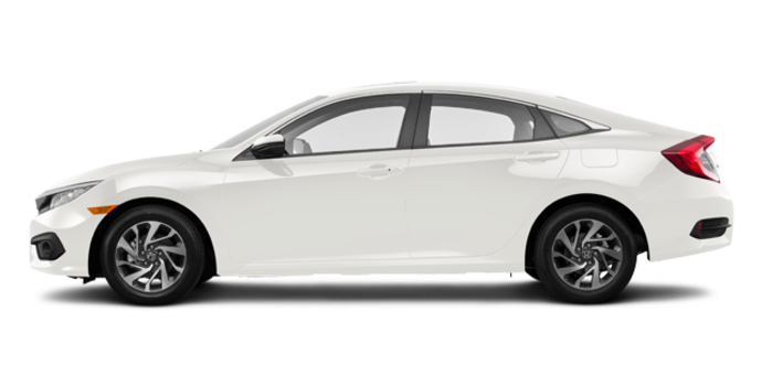 2017 Honda Civic Sedan EX | Photo 4 | White Orchid Pearl