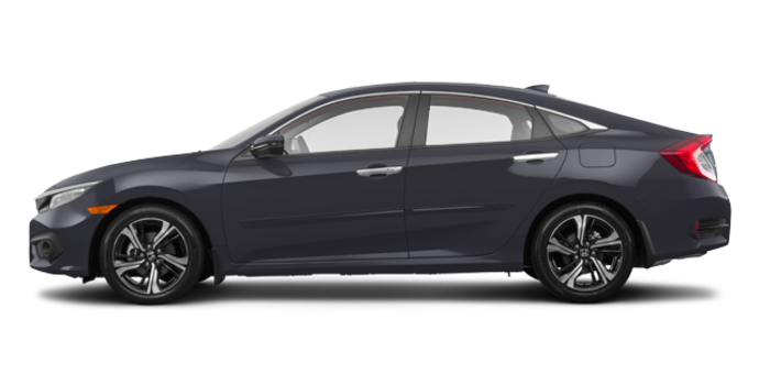 2017 Honda Civic Sedan TOURING | Photo 4 | Modern Steel Metallic