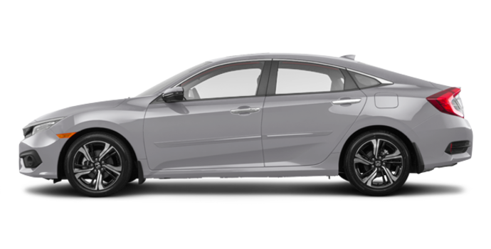 2017 Honda Civic Sedan TOURING | Photo 4 | Lunar Silver Metallic