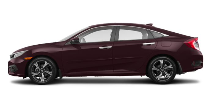 2017 Honda Civic Sedan TOURING | Photo 4 | Burgandy Nigth Pearl
