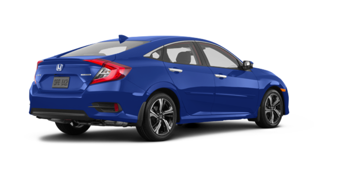 2017 Honda Civic Sedan TOURING | Photo 5 | Aegean Blue Metallic