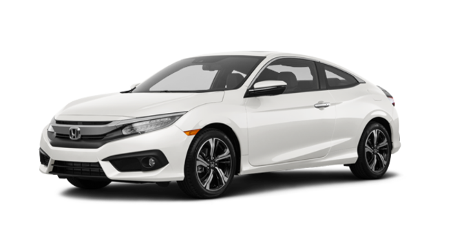 2017 Honda Civic Coupe TOURING | Photo 6 | White Orchid Pearl