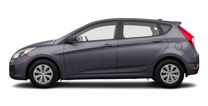 2017 Hyundai Accent 5 Doors GL | Photo 4 | Triathlon Grey