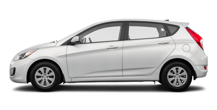 2017 Hyundai Accent 5 Doors GL | Photo 4 | Century White