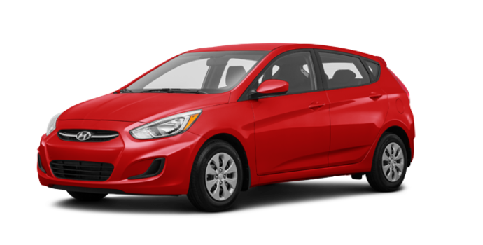 2017 Hyundai Accent 5 Doors GL | Photo 6 | Boston Red