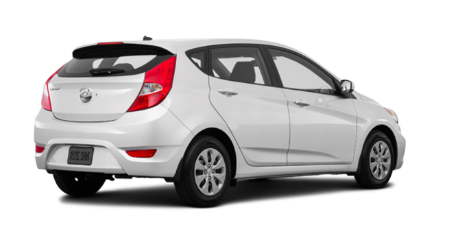 2017 Hyundai Accent 5 Doors L | Photo 5 | Century White