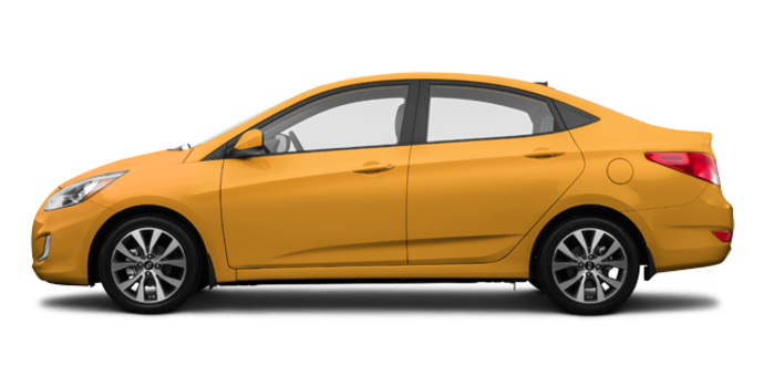 2017 Hyundai Accent Sedan SE | Photo 4 | Sunflower Yellow