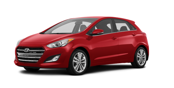 2017 Hyundai Elantra GT LIMITED | Photo 6 | Fiery Red