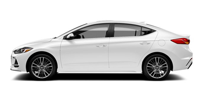 2017 Hyundai Elantra Sport TECH | Photo 4 | Polar White