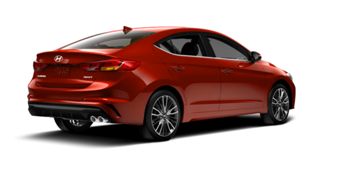 2017 Hyundai Elantra Sport TECH | Photo 5 | Orange Phoenix