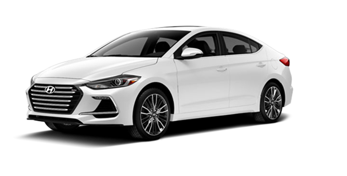 2017 Hyundai Elantra Sport TECH | Photo 6 | Polar White