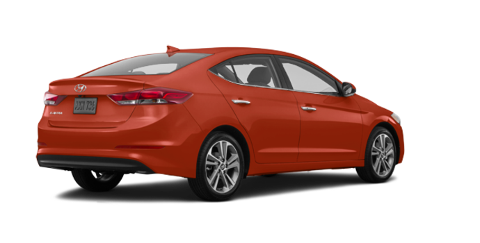 2017 Hyundai Elantra LIMITED SE | Photo 5 | Phoenix Orange