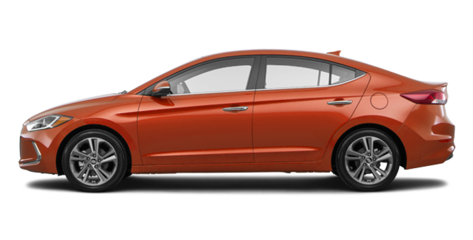 2017 Hyundai Elantra LIMITED | Photo 4 | Phoenix Orange