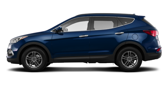 2017 Hyundai Santa Fe Sport 2.4 L LUXURY | Photo 4 | Nightfall Blue