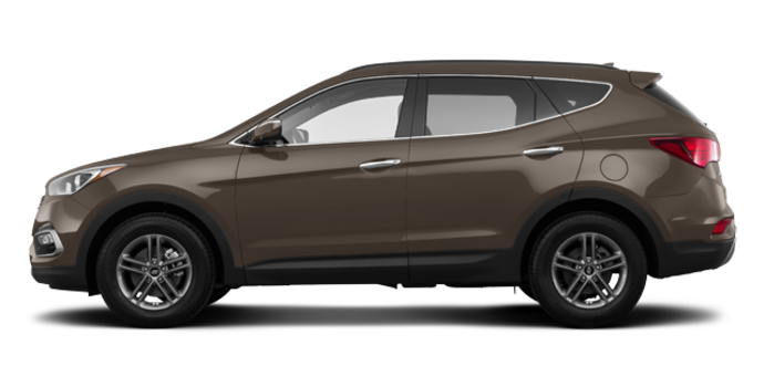 2017 Hyundai Santa Fe Sport 2.4 L LUXURY | Photo 4 | Platinum Graphite