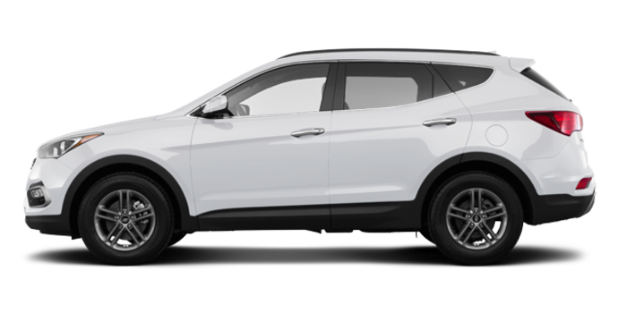 2017 Hyundai Santa Fe Sport 2.4 L LUXURY | Photo 4 | Frost White Pearl