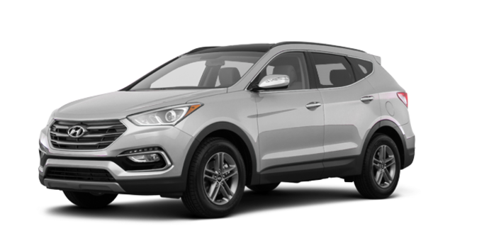 2017 Hyundai Santa Fe Sport 2.4 L LUXURY | Photo 6 | Sparkling Silver
