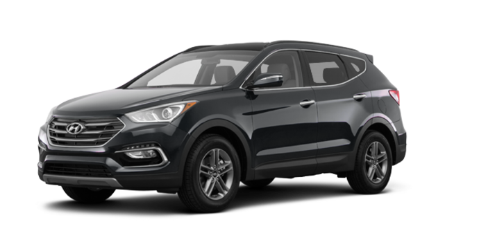 2017 Hyundai Santa Fe Sport 2.4 L LUXURY | Photo 6 | Titanium Silver