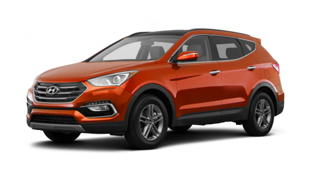 2017 Hyundai Santa Fe Sport 2.4 L LUXURY | Photo 6 | Canyon Copper
