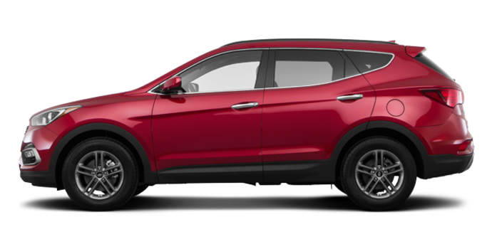 2017 Hyundai Santa Fe Sport 2.4 L | Photo 4 | Serrano Red