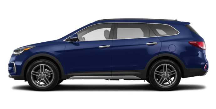 2017 Hyundai Santa Fe XL LIMITED | Photo 4 | Storm Blue