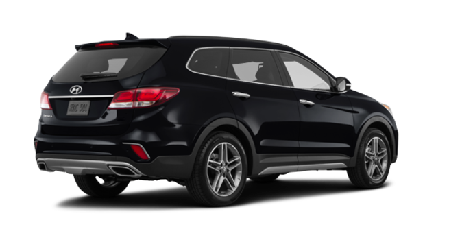 2017 Hyundai Santa Fe XL LIMITED | Photo 5 | Becketts Black