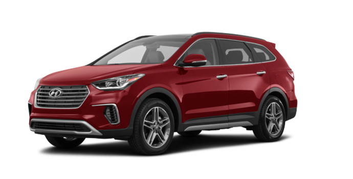 2017 Hyundai Santa Fe XL LIMITED | Photo 6 | Regal Red Pearl