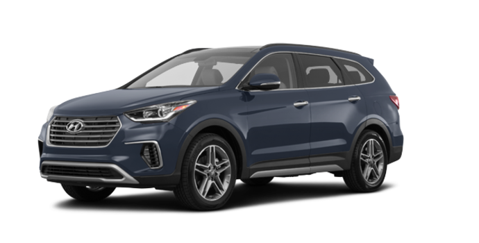 2017 Hyundai Santa Fe XL LIMITED | Photo 6 | Night Sky Pearl