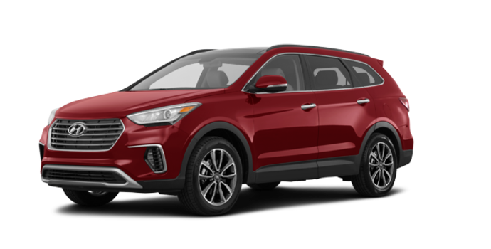 2017 Hyundai Santa Fe XL LUXURY | Photo 6 | Regal Red Pearl