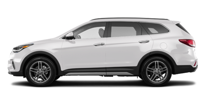 2017 Hyundai Santa Fe XL ULTIMATE | Photo 4 | Monaco White