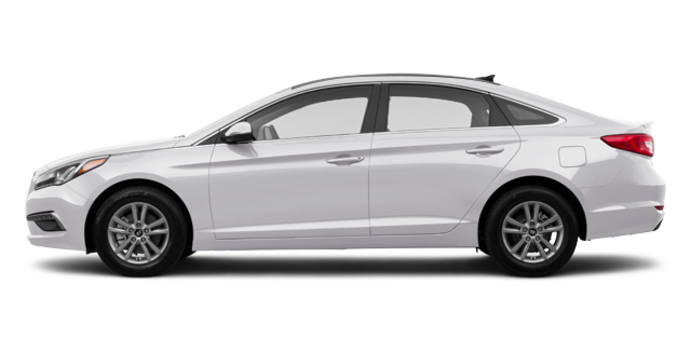 2017 Hyundai Sonata GLS | Photo 4 | Ice White