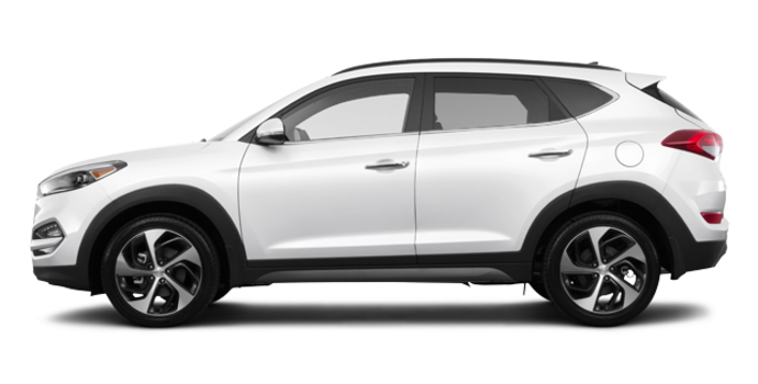 2017 Hyundai Tucson 1.6T LIMITED AWD | Photo 4 | Winter White