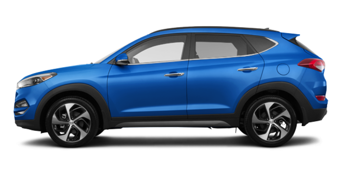 2017 Hyundai Tucson 1.6T LIMITED AWD | Photo 4 | Caribbean Blue