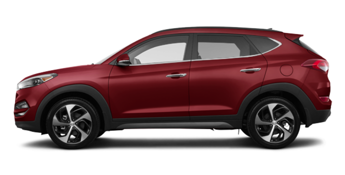 2017 Hyundai Tucson 1.6T LIMITED AWD | Photo 4 | Ruby Wine