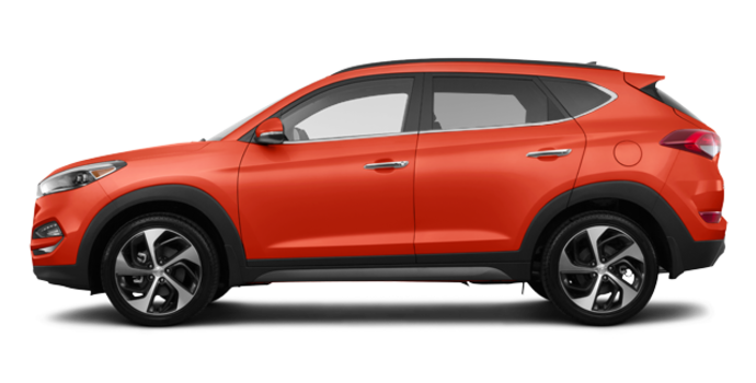 2017 Hyundai Tucson 1.6T LIMITED AWD | Photo 4 | Sedona Sunset