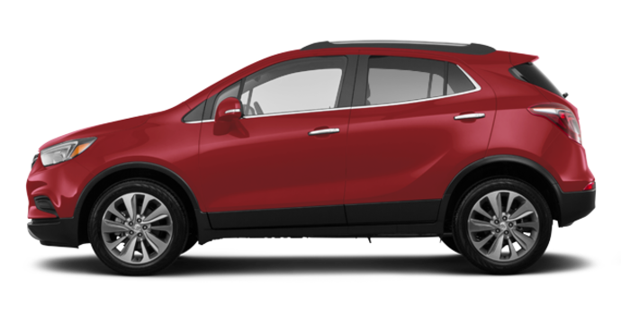 2018 Buick Encore PREFERRED | Photo 4 | Winterberry Red Metallic