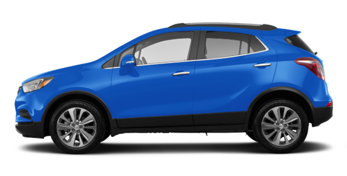 2018 Buick Encore PREFERRED | Photo 4 | Coastal Blue Metallic