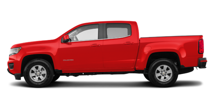 2018 Chevrolet Colorado WT | Photo 4 | Red Hot