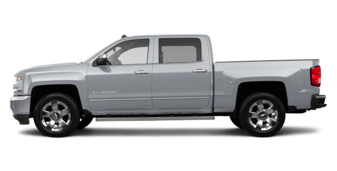 2018 Chevrolet Silverado 1500 LTZ 2LZ | Photo 4 | Silver Ice Metallic