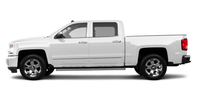 2018 Chevrolet Silverado 1500 LTZ 2LZ | Photo 4 | Summit White