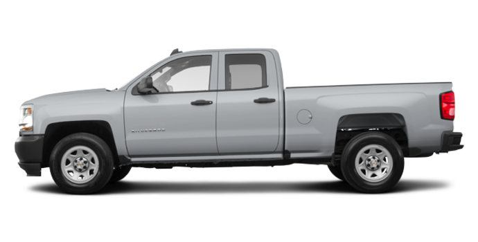2018 Chevrolet Silverado 1500 WT | Photo 4 | Silver Ice Metallic