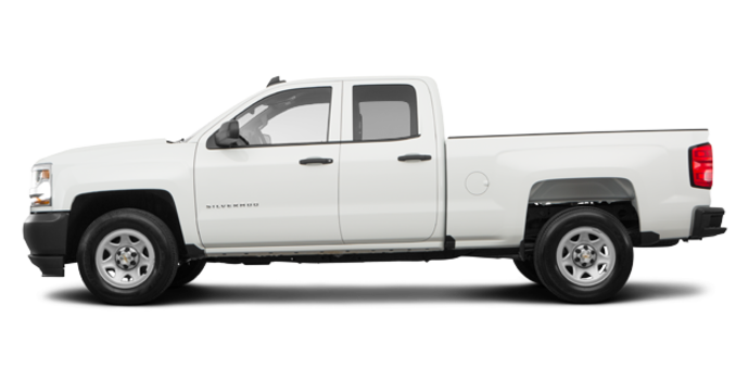 2018 Chevrolet Silverado 1500 WT | Photo 4 | Summit White