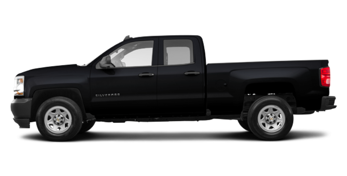 2018 Chevrolet Silverado 1500 WT | Photo 4 | Black