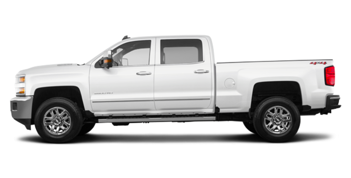2018 Chevrolet Silverado 2500HD LTZ | Photo 4 | Summit White