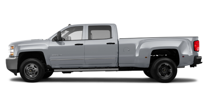 2018 Chevrolet Silverado 3500 HD WT | Photo 4 | Silver Ice Metallic