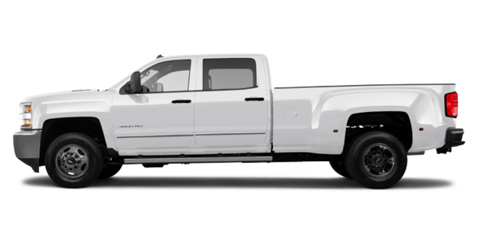 2018 Chevrolet Silverado 3500 HD WT | Photo 4 | Summit White