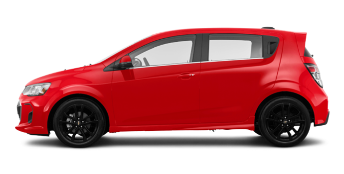 2018 Chevrolet Sonic Hatchback PREMIER | Photo 4 | Cajun Red