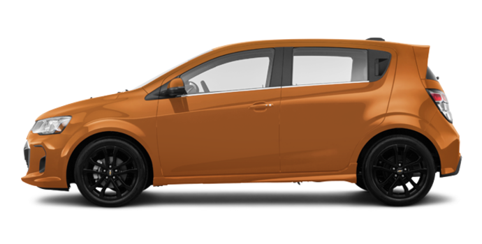 2018 Chevrolet Sonic Hatchback PREMIER | Photo 4 | Orange Burst Metallic