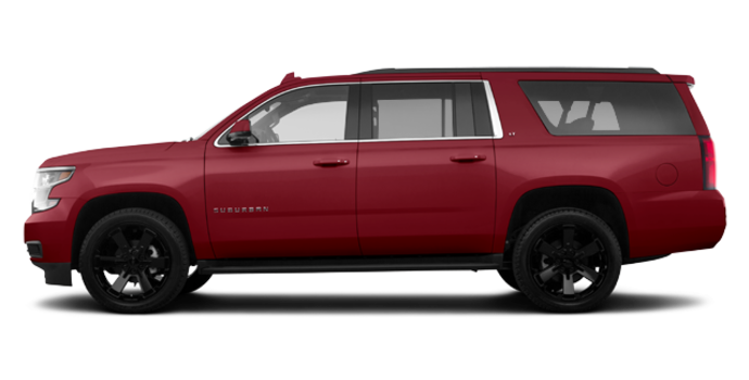 2018 Chevrolet Suburban LT | Photo 4 | Siren Red
