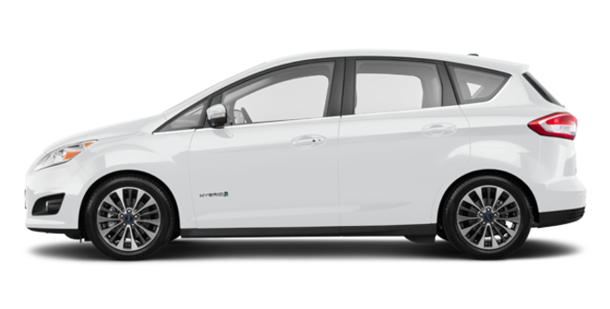 2018 Ford C-MAX HYBRID TITANIUM | Photo 4 | White Platinum Metallic Tri-Coat